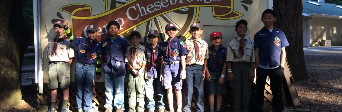 Den 6 at Webelos Camp